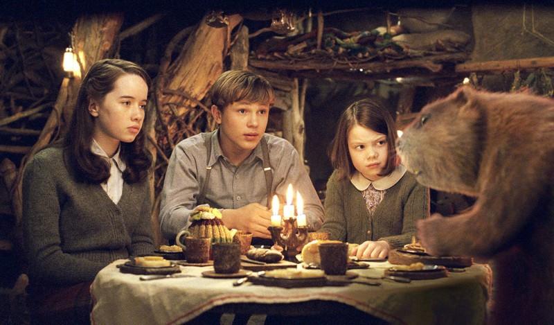 """Anna Popplewell, William Moseley und Georgie Henley spielen in """"Chroniken von Narnia"""" die Stars."""