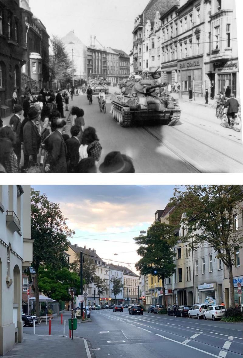 Düsseldorf Flingern mit 75 Jahren Abstand