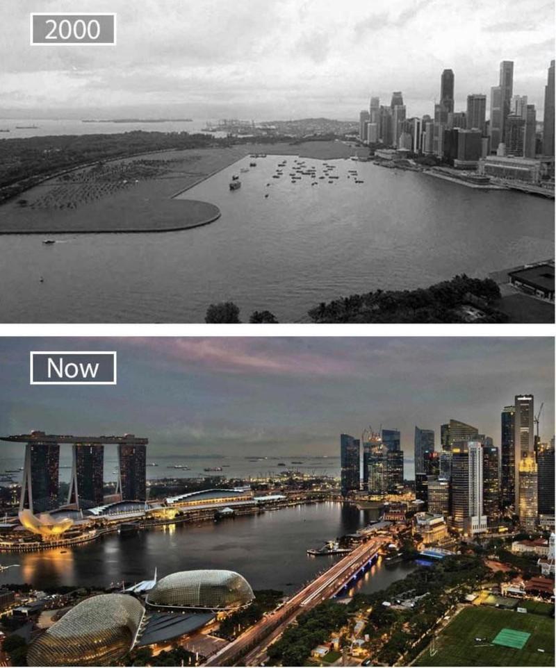 Singapur hat sich in 20 Jahren sehr verändert