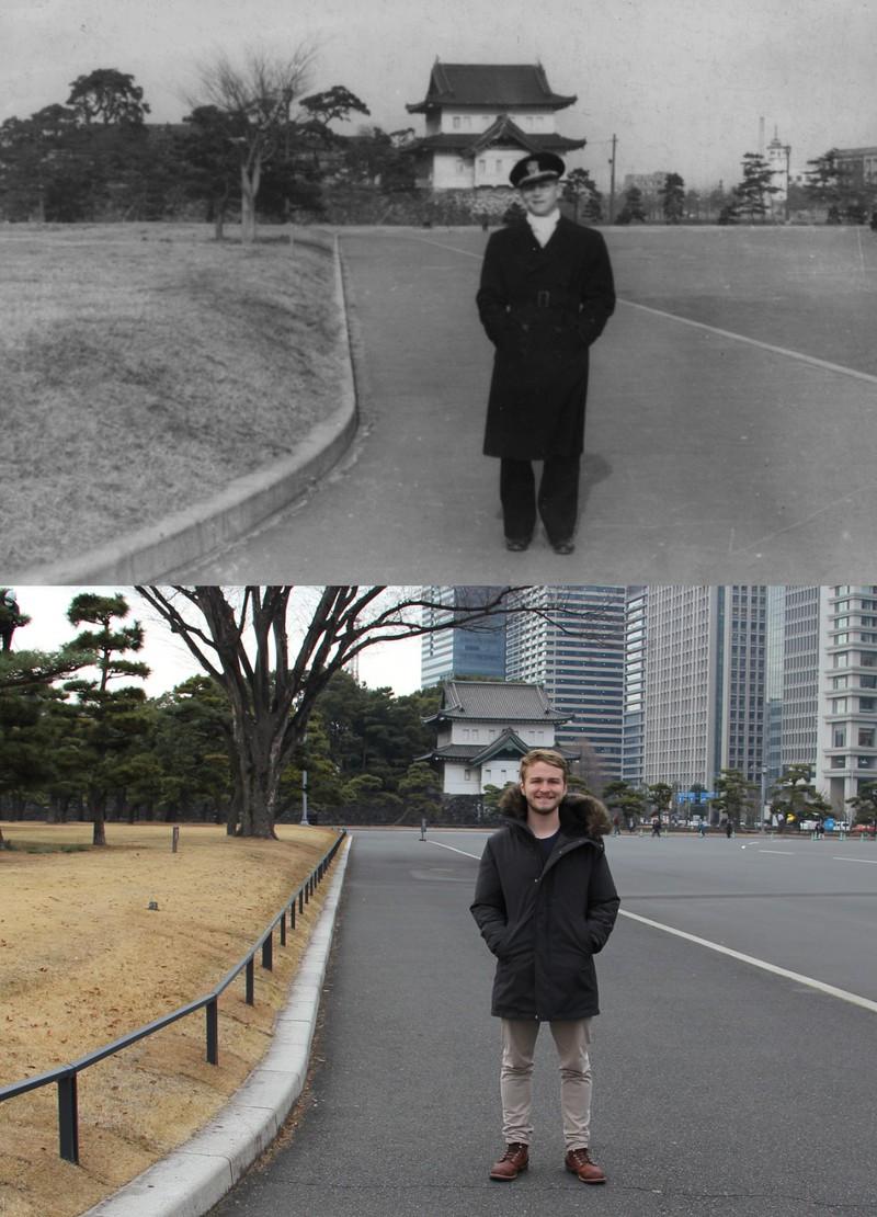 Tokio heute und vor 73 Jahren