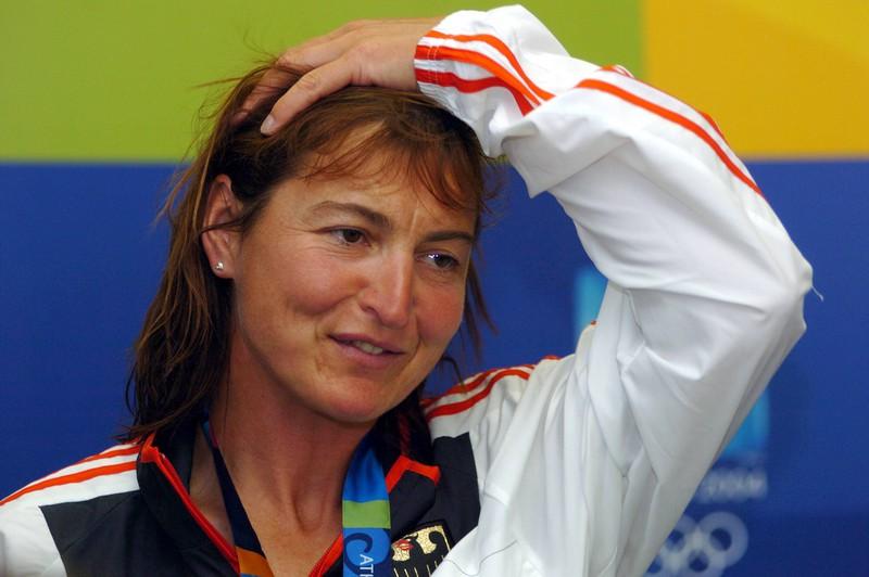 Brigit Fischer ist deutsche Kanutin.