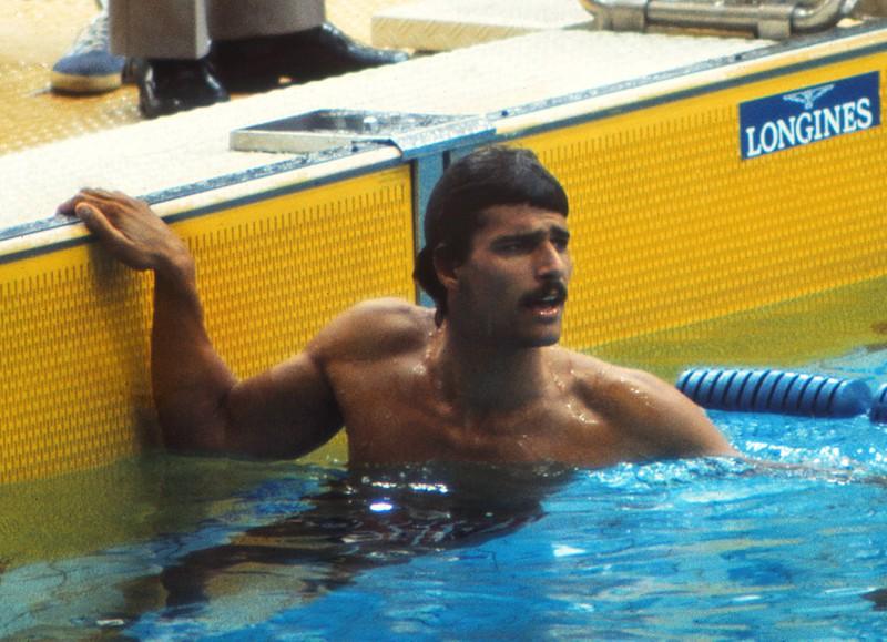 Mark Spitz war als Schwimmer höchst erfolgreich.