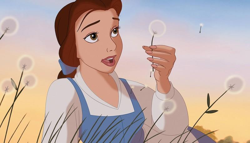 Belle aus dem Disney-Film die Schöne und das Biest