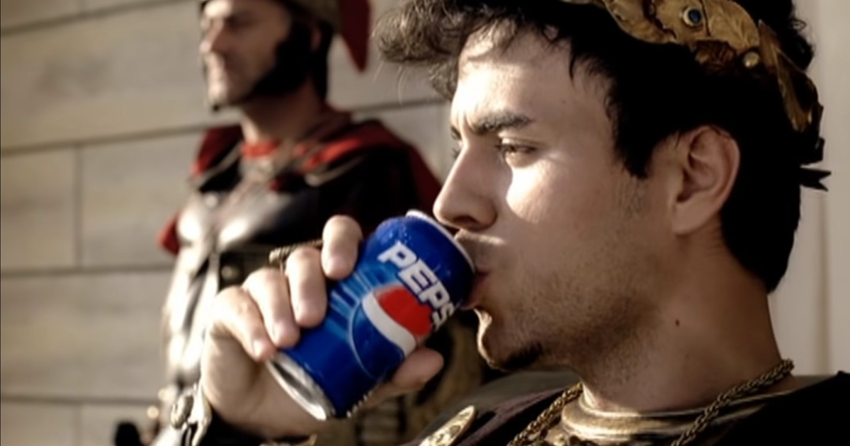 Die 6 legendärsten Pepsi-Werbungen
