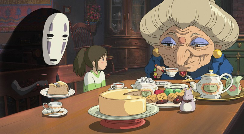 Chihiros Reise ins Zauberland erschien im Jahr 2001