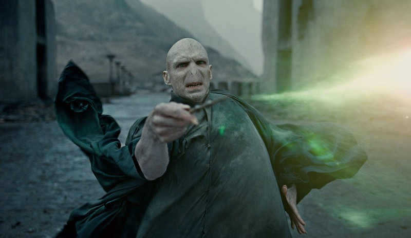 "Lord Voldemort im ""Harry Potter""-Film."