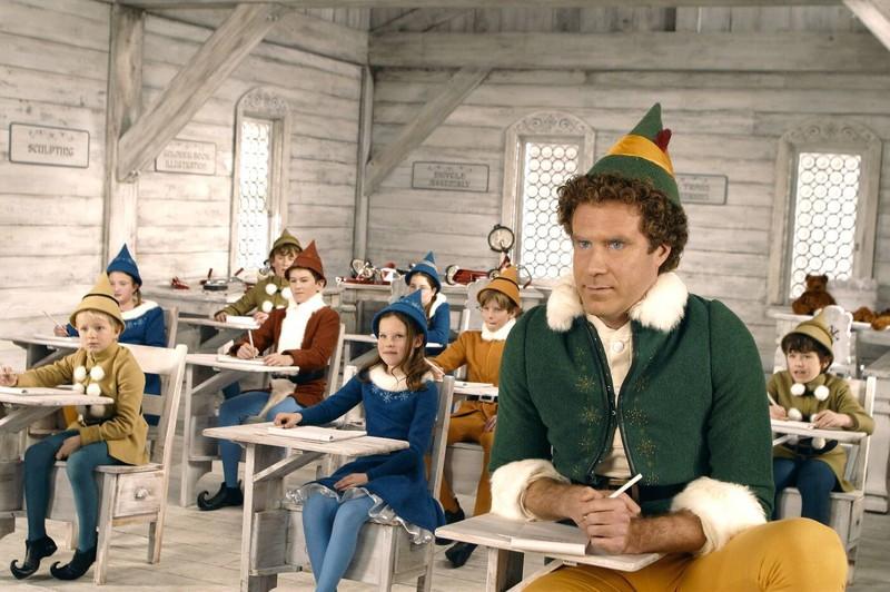 """Darsteller Will Ferrell in """"Buddy - Der Weihnachtself""""."""