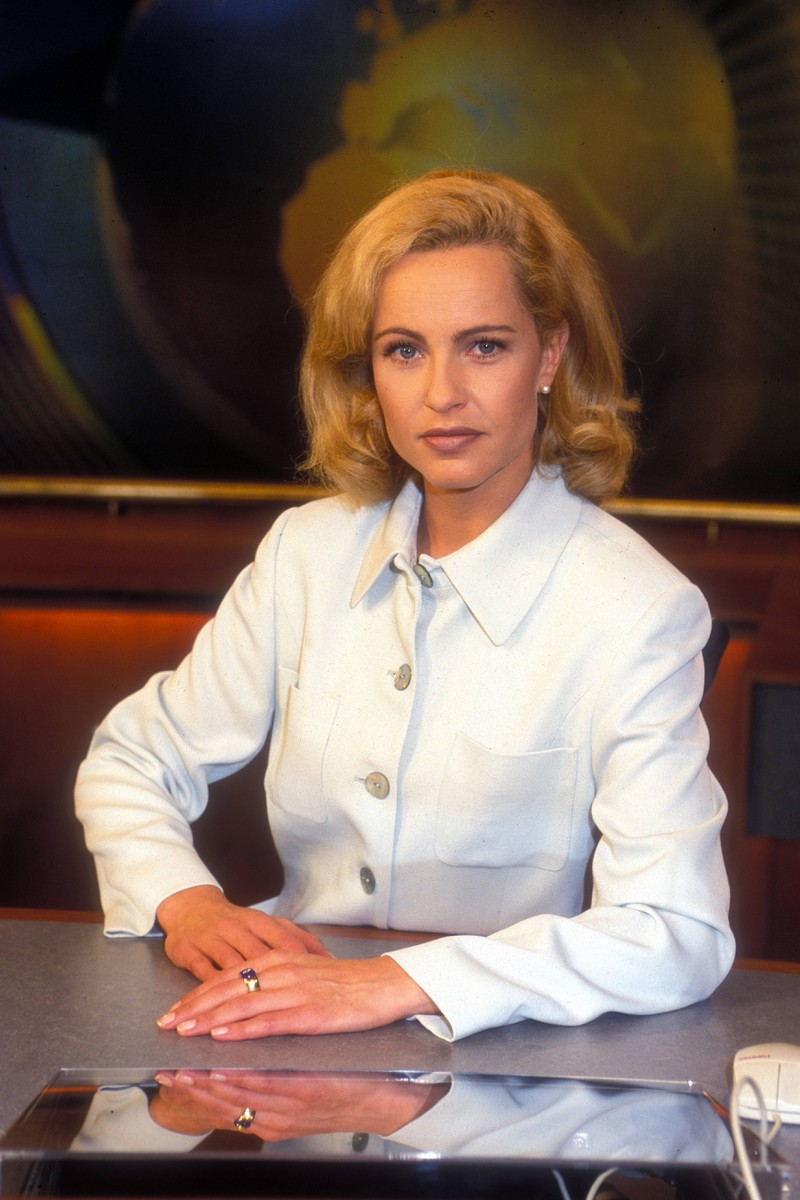 Katja Burkard, die früher mal keine Locken hatte