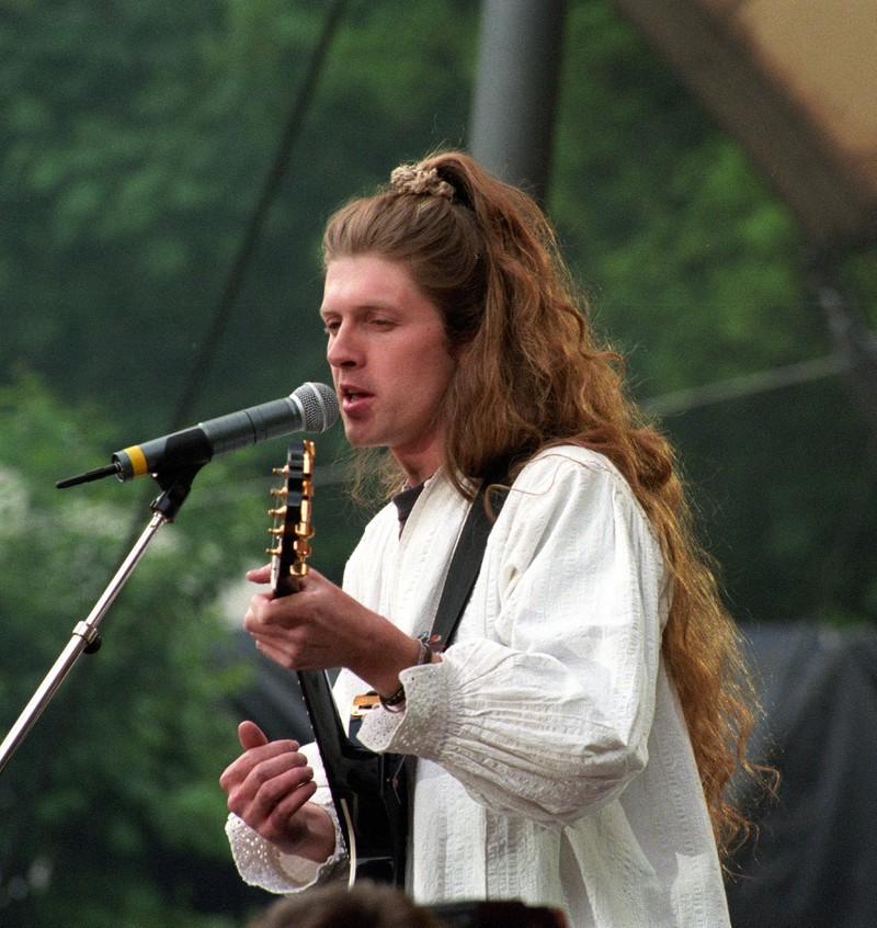 John Kelly war für die Bühnentechnik der Band zuständig.