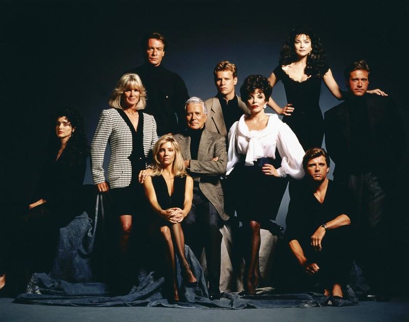 Die Stars damals: Der Denver Clan war die Kultserie der 80er.