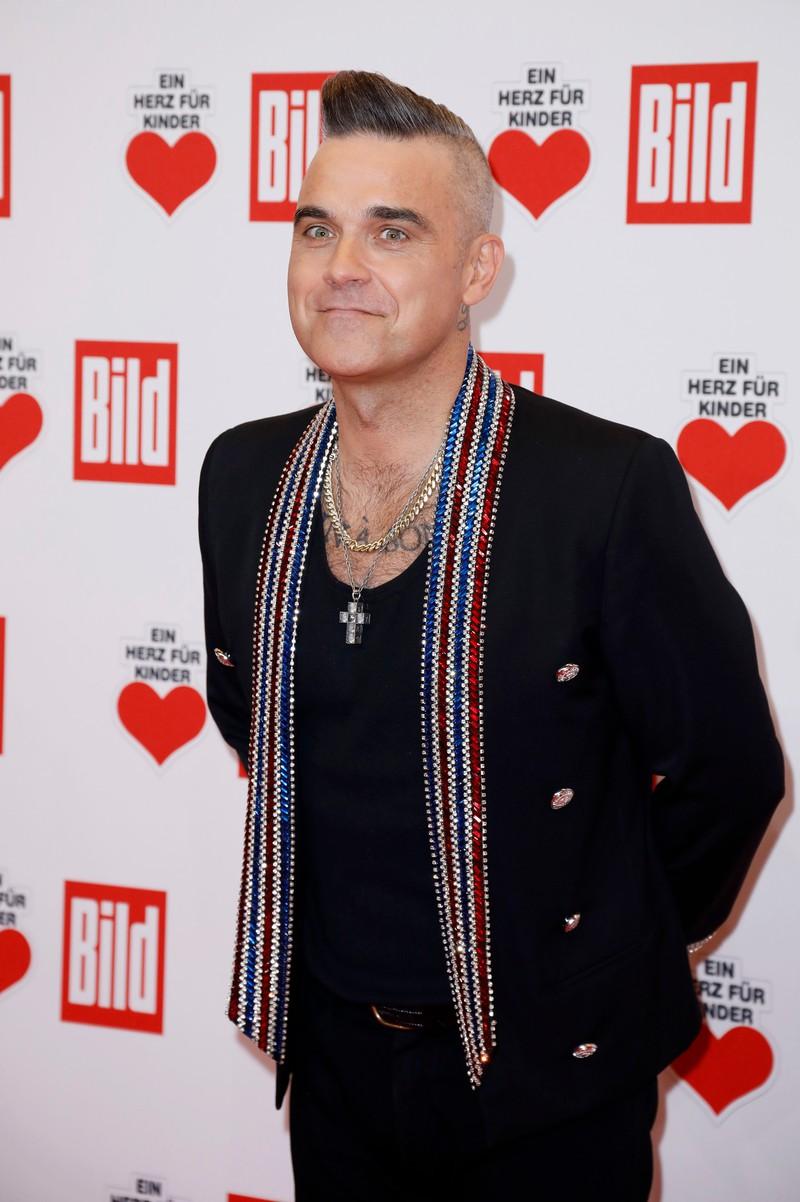 Robbie Williams ist heute ein erfolgreicher Musiker
