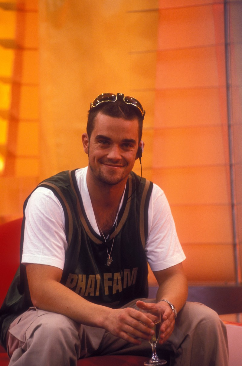 Robbie Williams war damals der Badboy