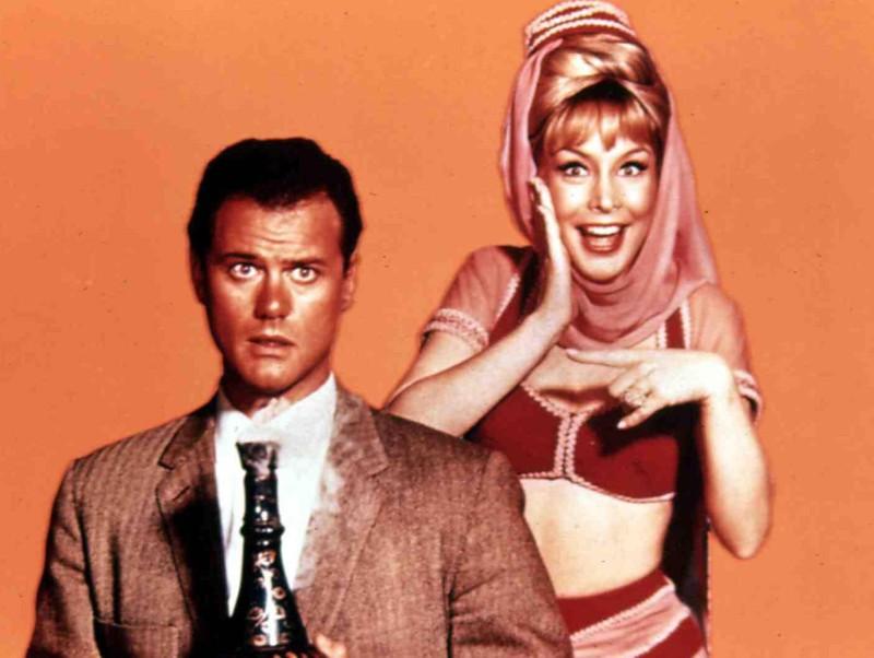 """Die """"bezaubernde Jeannie"""" war damals wie heute eine beliebte Serie."""