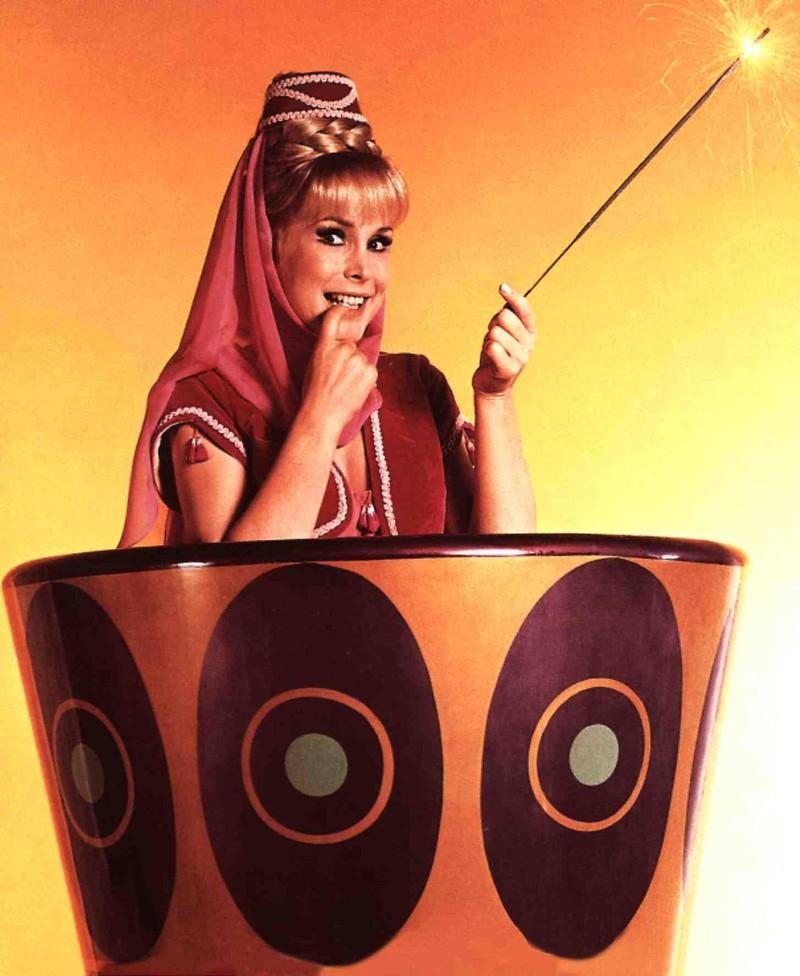 Die bezaubernde Jeannie wurde zur Kultfigur.