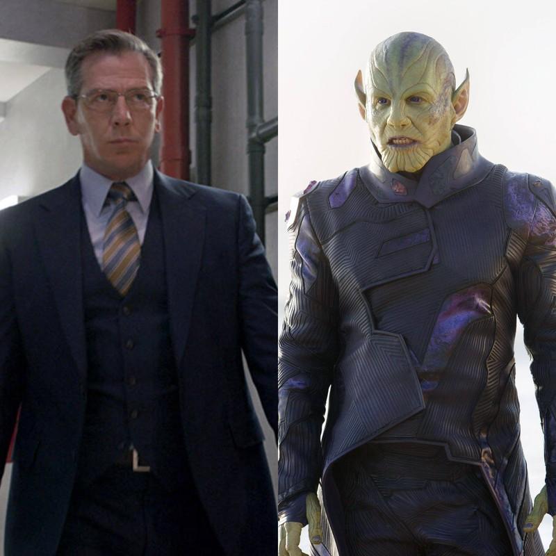 In Captain Marvel spielt Ben Mendelsohn zwei Charaktere: Agent Keller und Talos