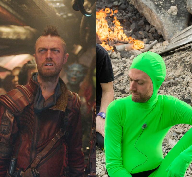 """Sean Gunn in """"Guardians of the Galaxy"""" in einer Doppelrolle, was viele nicht wussten"""