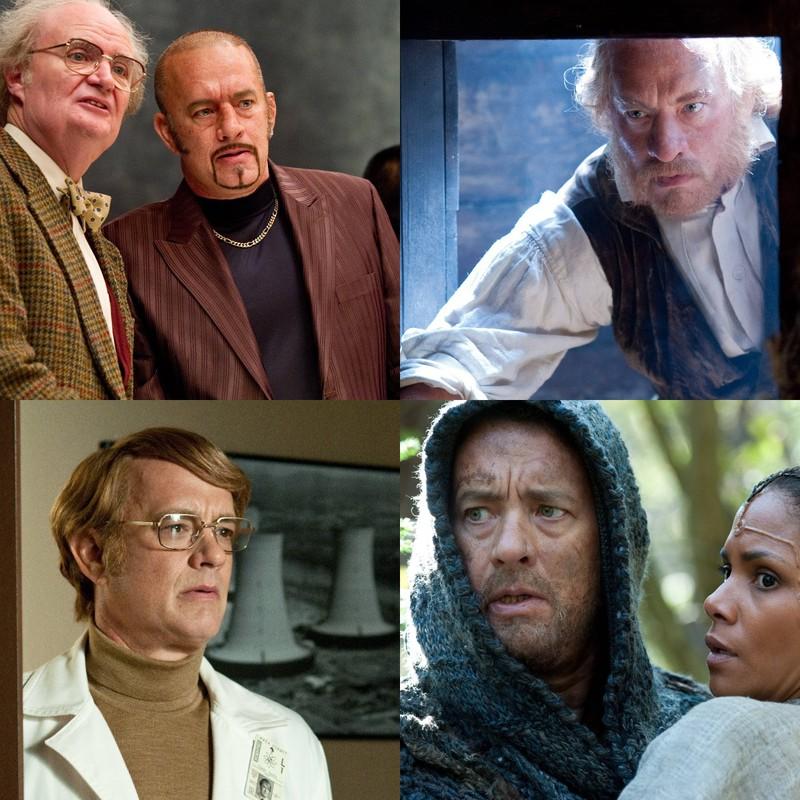 "Tom Hanks, der als Schauspieler in ""Coud Atlas"" sechs verschiedene Rollen spielte"