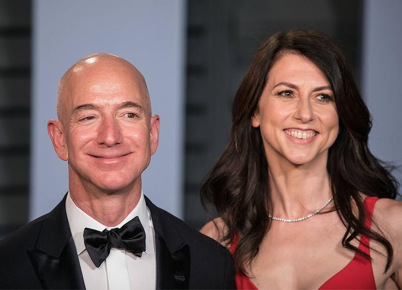 Jeff und MacKenzie Bezos haben ihr Vermögen auch untereinander aufgeteilt, als sie sich haben scheiden lassen