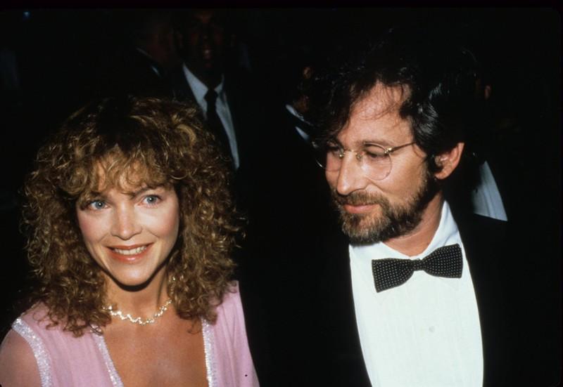 Steven Spielberg & Amy Irving als sie noch glücklich verheiratet waren
