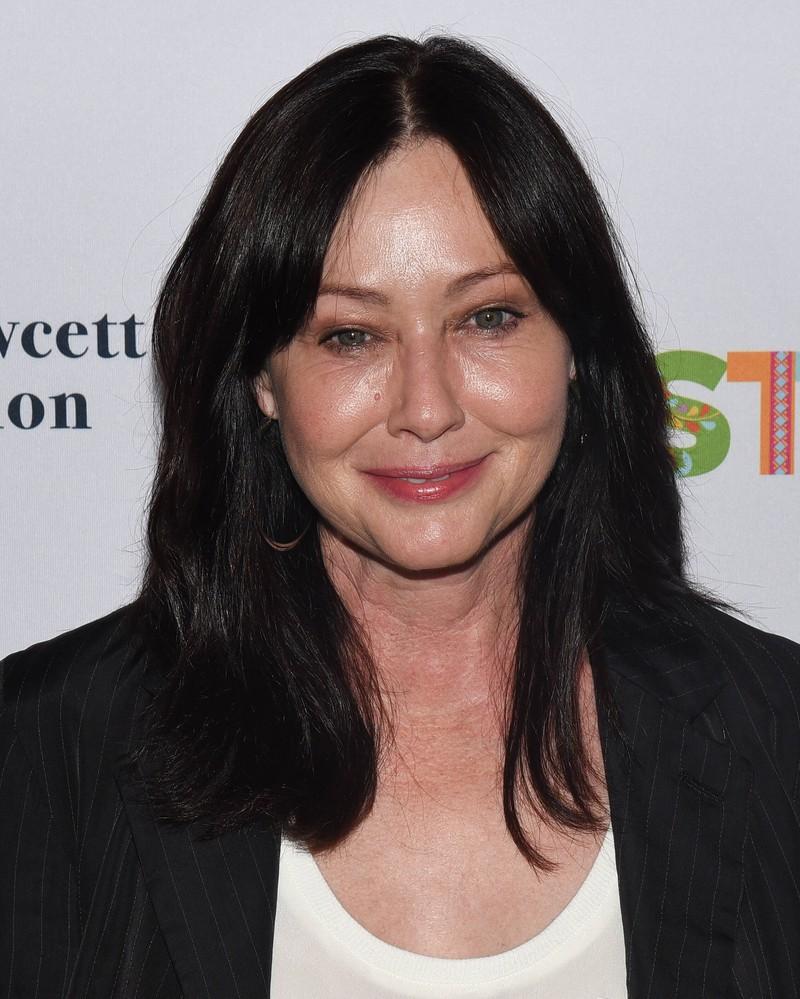 """Auch außerhalb des Filmsets von """"Charmed"""" erweist sich Shannen Doherty als zähe Kämpferin, die nicht aufgibt."""